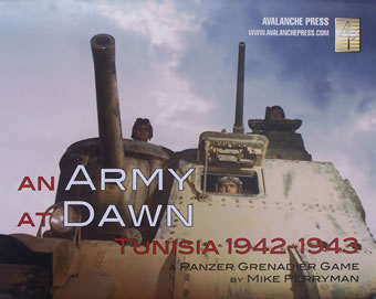 An Army at Dawn boxcover