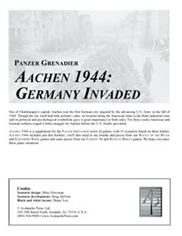 Aachen 1944 boxcover