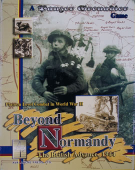 Beyond Normandy boxcover
