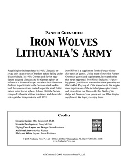 Iron Wolves boxcover