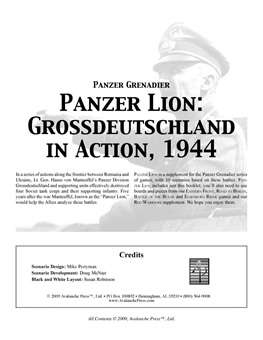 Panzer Lion boxcover