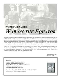 War on the Equator boxcover