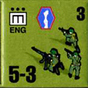 Panzer Grenadier Headquarters Library Unit: United States Army ENG for Panzer Grenadier game series