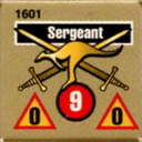 Panzer Grenadier Headquarters Library Unit: Australia Army Sergeant for Panzer Grenadier game series