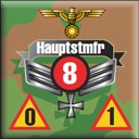 Panzer Grenadier Headquarters Library Unit: Germany Schutzstaffel Hauptsmfr (CAPT) for Panzer Grenadier game series