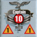 Panzer Grenadier Headquarters Library Unit: Germany Luftwaffe Captain for Panzer Grenadier game series