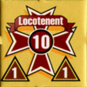 Panzer Grenadier Headquarters Library Unit: Romania Army Locotenent for Panzer Grenadier game series