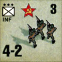 Panzer Grenadier Headquarters Library Unit: Soviet Union Army (RKKA) INF for Panzer Grenadier game series