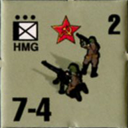 Panzer Grenadier Headquarters Library Unit: Soviet Union Army (RKKA) HMG for Panzer Grenadier game series