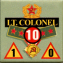 Panzer Grenadier Headquarters Library Unit: Soviet Union Army (RKKA) Lt. Colonel for Panzer Grenadier game series
